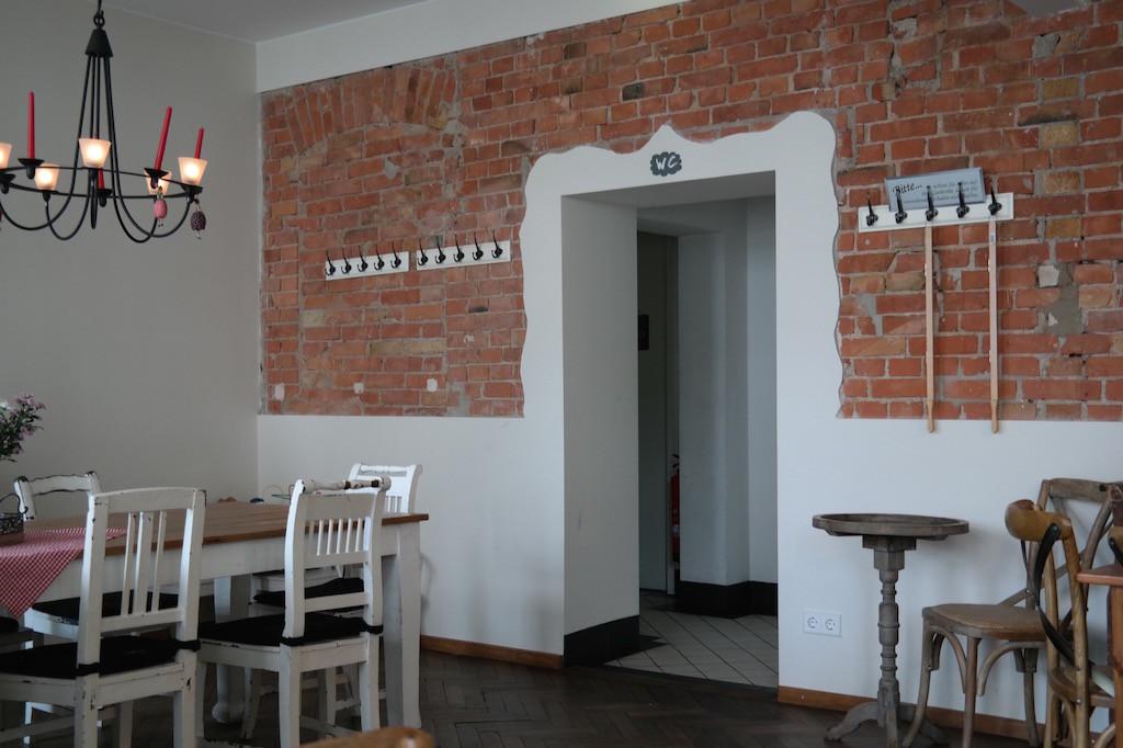 Milchmanns, café, frühstück, essen, Kaffee, prenzlauer berg, Berlin, innen, ei, Rührei , innen2